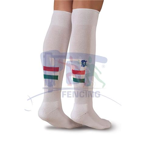 Fencing Socks Hungarian Flag