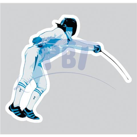 Car sticker - Epee