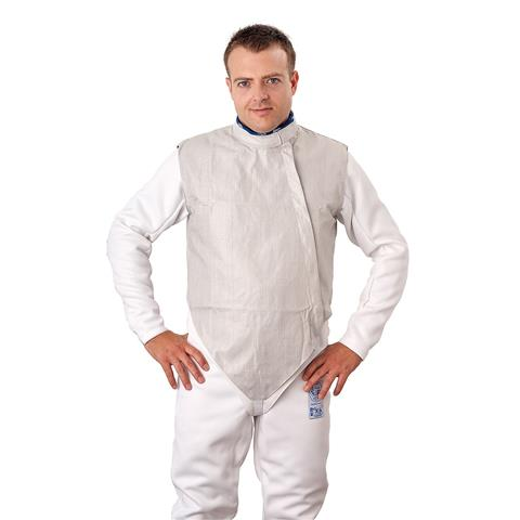 White Inox electric foil jacket men's